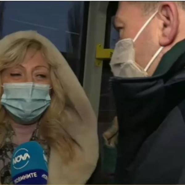 Софиянка откачи заради съобщенията за носене на маска в автобуса